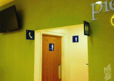 Baños señalética